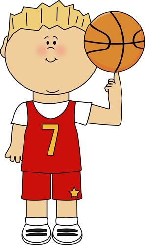 Basketball Player Balancing Ball on Finger Clip Art - Basketball Player Balancing Ball on Finger Image