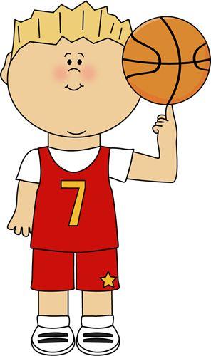 Basketball Player Balancing Ball on Finger Clip Art - Basketball Player Balancing Ball on Finger Image