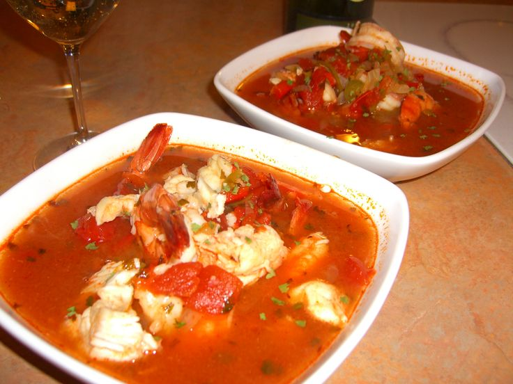 Mexican food recipes from mexico mexican seafood soup for Fish soup near me