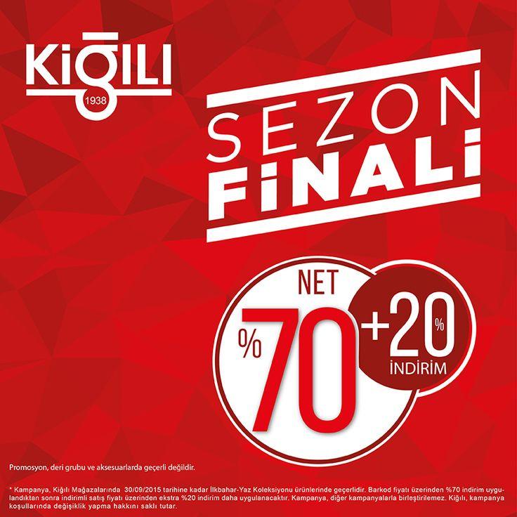 #BeylikdüzüMigros AVM Kiğılı mağazasında net %70 + %20 sezon finali indirimi başladı. Sakın kaçırmayın! ;)