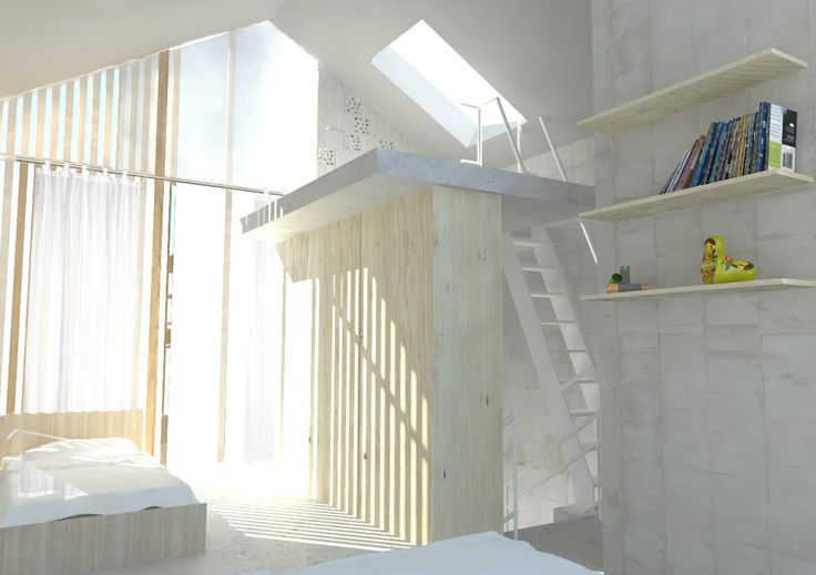 Urban Houses - interior view