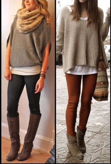 Sweater season is here !!!! Love a sweater with tights...so simple and cozy..LOVE it