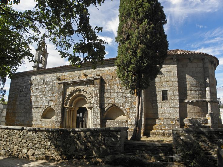 Iglesia de Santa María de Melide, La Coruña, Camino de Santiago