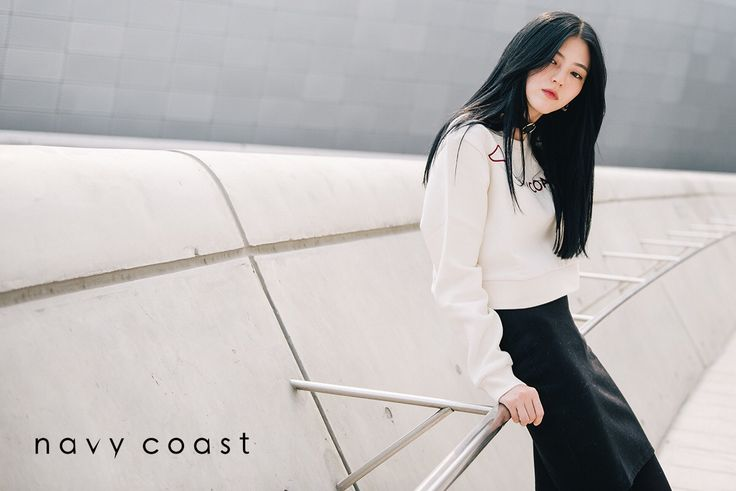 Navy Coast in  Seoul Fashion Week   Navy Coast 15F/W Crop Sweatshirts   www.navycoast.co.kr