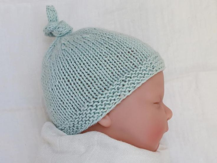 Baby Hat with Top Knot - Tegan | Craftsy