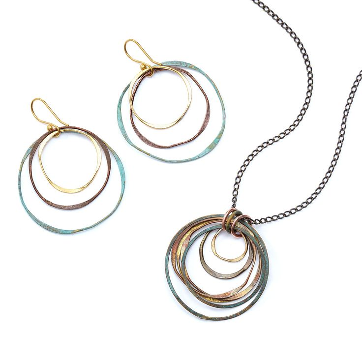 MIXED METALS NECKLACE | handmade jewelry, metal necklace | UncommonGoods