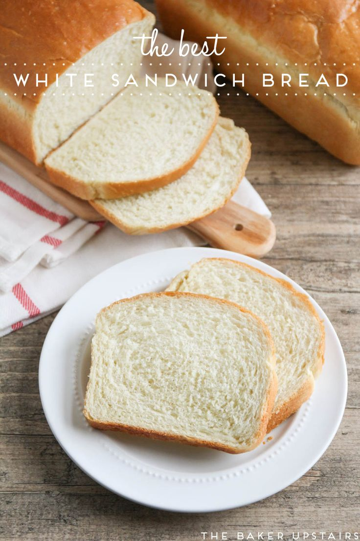 The best white sandwich bread - so light and tender, but sturdy enough to stand up to any sandwich filling. Delicious and easy to make too!