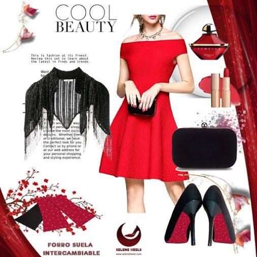 Outfit con accesorio para la suela del tacón, láminas que se pueden intercambiar en http://www.seleneheels.com #seleneheels  #tacones #moda #zapatos #amolostacones #accesorios #estilo #tendencias #compras #colombia #boutique #hechoencolombia #hechoamano #mujer #femenina #modacolombia #ropa #shoes #heels #heelsaddict #fashion #fashionista #outfit #outfits #accesories #blogger #dress #trend #trendy #polyvore