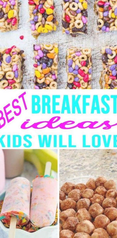 Super Easy Quick Breakfast Ideas For Kids Tasty On The Go Ideas School Morning Breakfast Healthy Breakf Breakfast For Kids Quick Breakfast Picky Eaters Kids