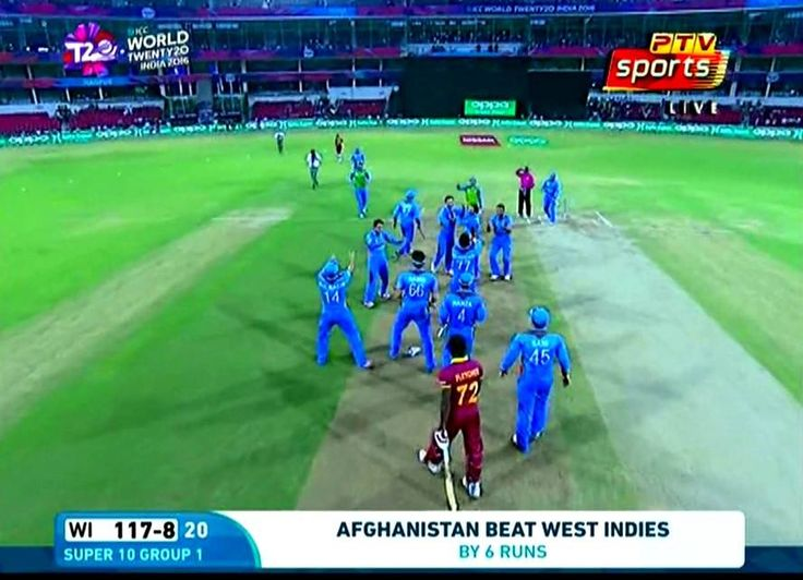 Afghanistan victory moment against West indies! #cricket #cricketgame #hitwicket
