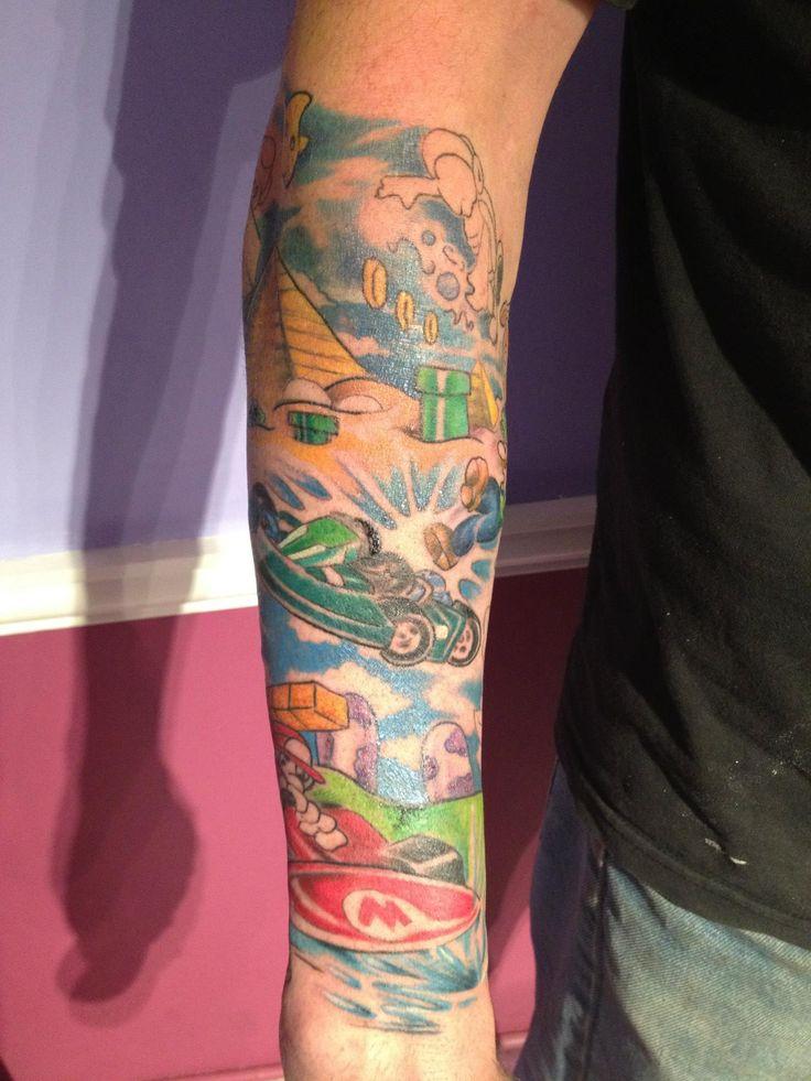 Mario Kart Tattoo Sleeve - mario-kart Photo