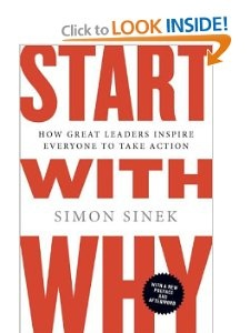 Great read by Simon Sinek.  Start your business with why