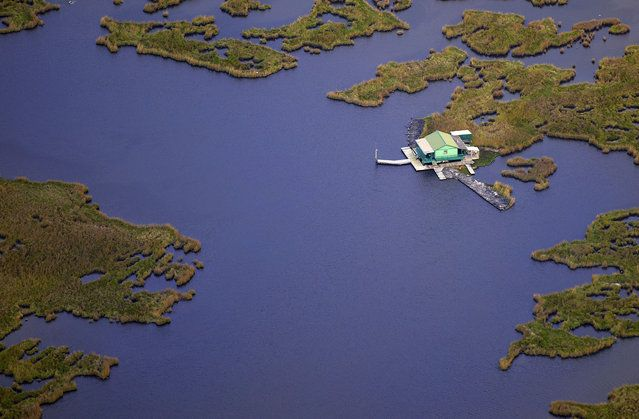 Louisiana wetlands - USA from the air | www.piclectica.com #piclectica