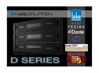 Lab.gruppen D Series – merkittävä uutuus päätevahvistimissa. Noretron.