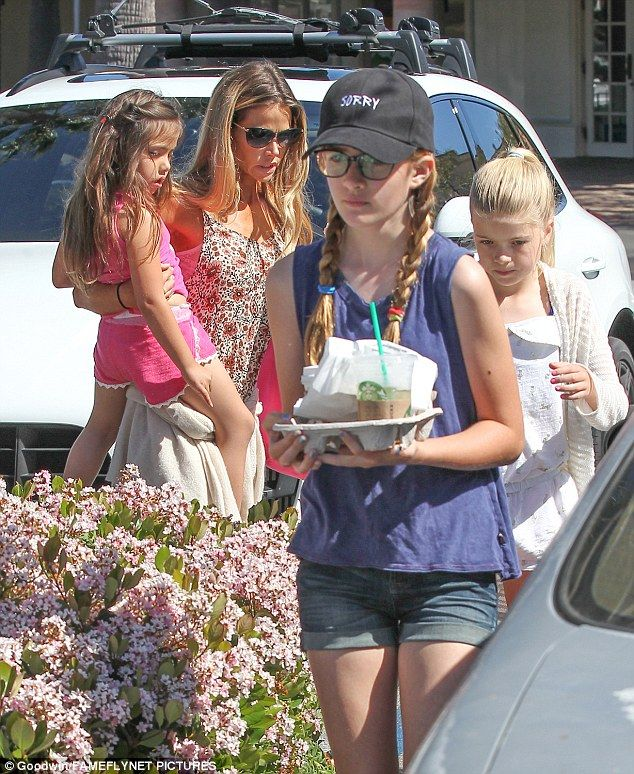 Follow the leader! Denise's 12-year-old carried a to-go tray from the coffee shop with pas...
