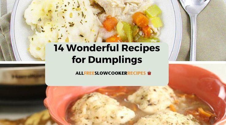 14 Wonderful Recipes For Dumplings   Great ideas for your next Asian-themed  dinner!