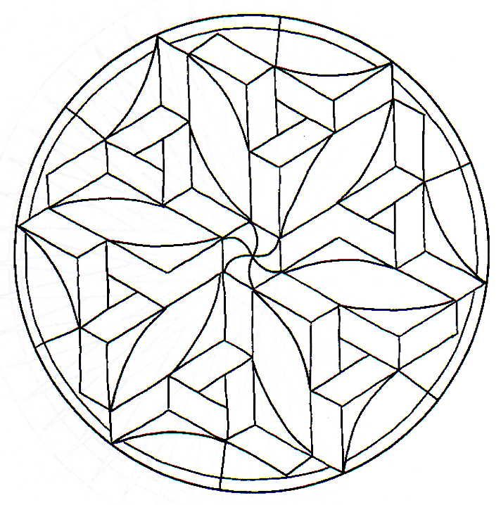 Mandala Tridimensional Imagenes De Mandalas Faciles Imagenes De Mandalas Mandalas Faciles
