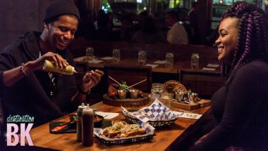 Chef Roblé Explores The Crabby Shack & Streets in Brooklyn