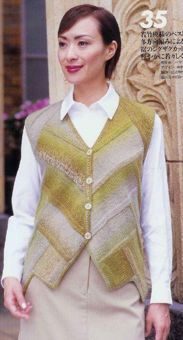 Вязание спицами: жакеты, кофты, кардиганы   Записи в рубрике Вязание спицами…