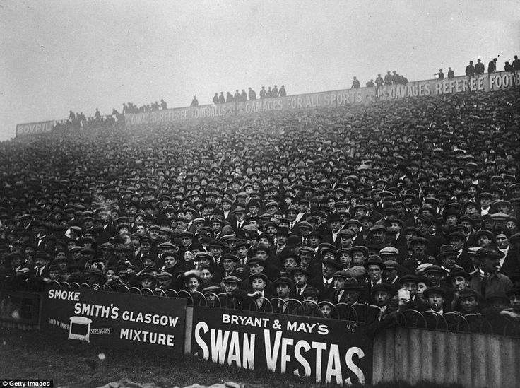 Don't forget your flat cap. There were 35,175 at the Lane for Tottenham's FA Cup first-round clash with Bristol Rovers on January 8, 1921 and the home fans were rewarded with a 6-2 victory for Spurs who went on to win the competition