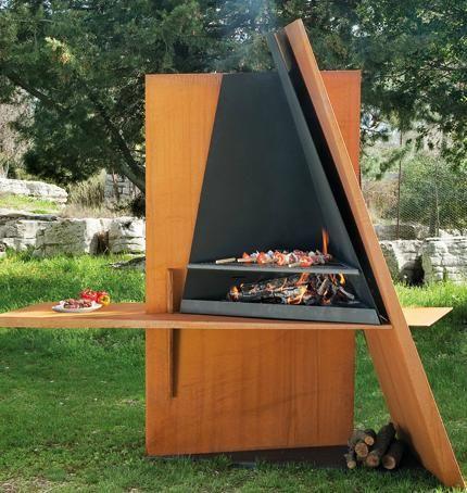 déco barbecue design jardin | Barbecue en 2019 | Design barbecue ...