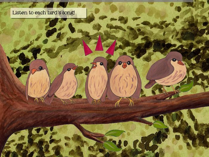 Robin & his Birds - a storybook app for 5-8 year olds. robinandhisbirds.com