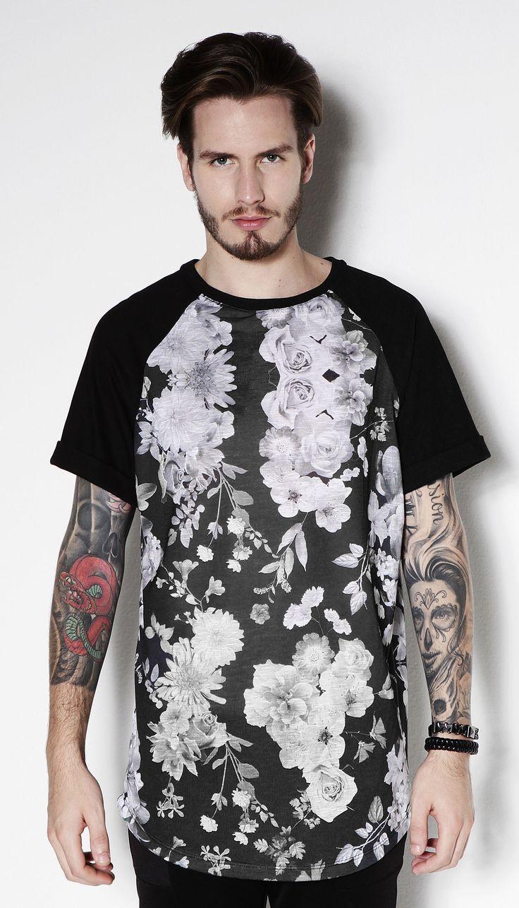 T Shirt Long Floral