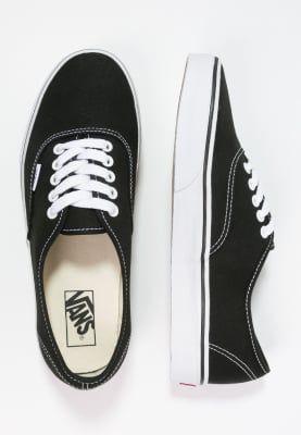 Bestill Vans AUTHENTIC - Skatesko - black for kr 649,00 (28.09.16) med gratis frakt på Zalando.no