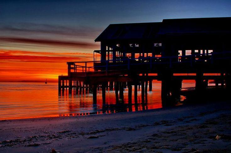 Barwon Heads Pier, Victoria, Australia sunrise (epod)