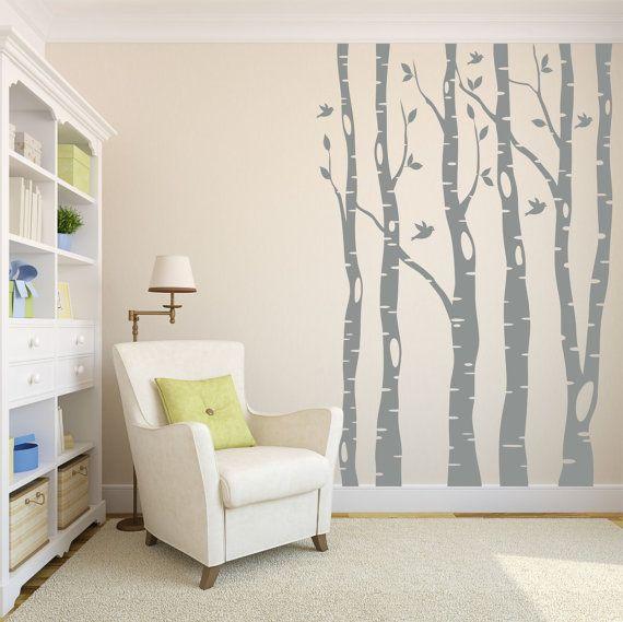 49 best Tapeten images on Pinterest Vinyls, Wall decal sticker - schöne tapeten fürs wohnzimmer