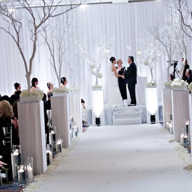 Winter Wonderland Wedding: Blue Theme. See More. Ceremony Decor