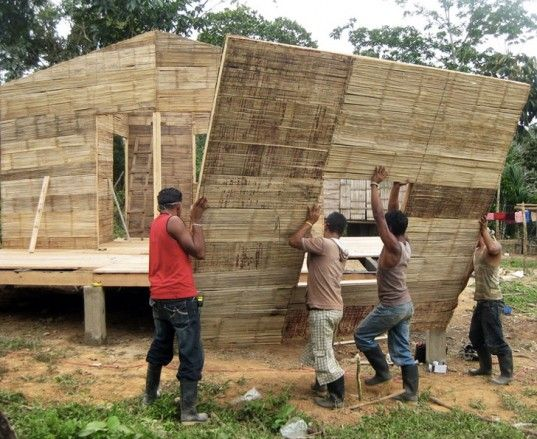In 2011 CO2 Bambu was awarded with a historic contract to build 82 bamboo-based homes in Rosita, Nicaragua as part of the Hurricane Felix reconstruction effort.
