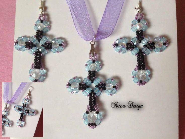 Gothic cross bead set <3 Follow me on my facebook page:   https://www.facebook.com/IvicaDesign/?ref=bookmarks Buy my individual on Portéka: https://porteka.com/hu/ivica