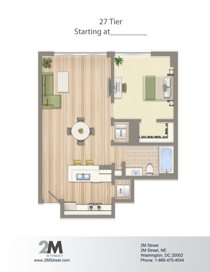 1000 images about 2m street on pinterest leasing office - Washington dc 1 bedroom apartments ...
