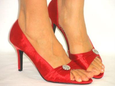 Ruby Shoes Wedding