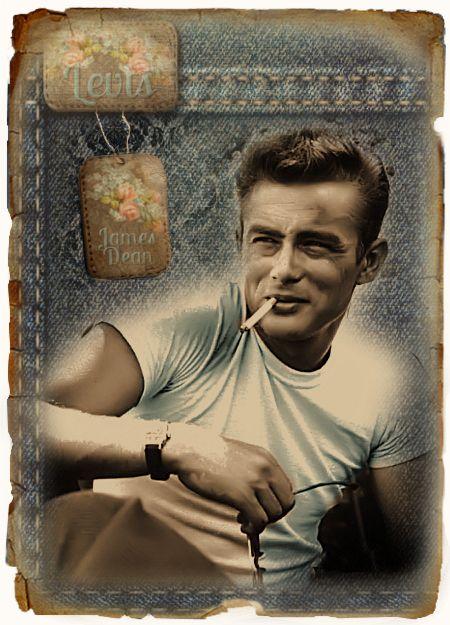 JanetK.Design Free digital vintage stuff: James Dean