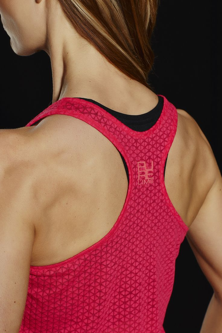 PureLime fitness wear AW 2015 tank top back