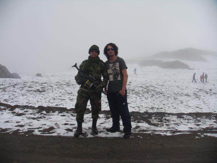 La vigilancia en el nevado