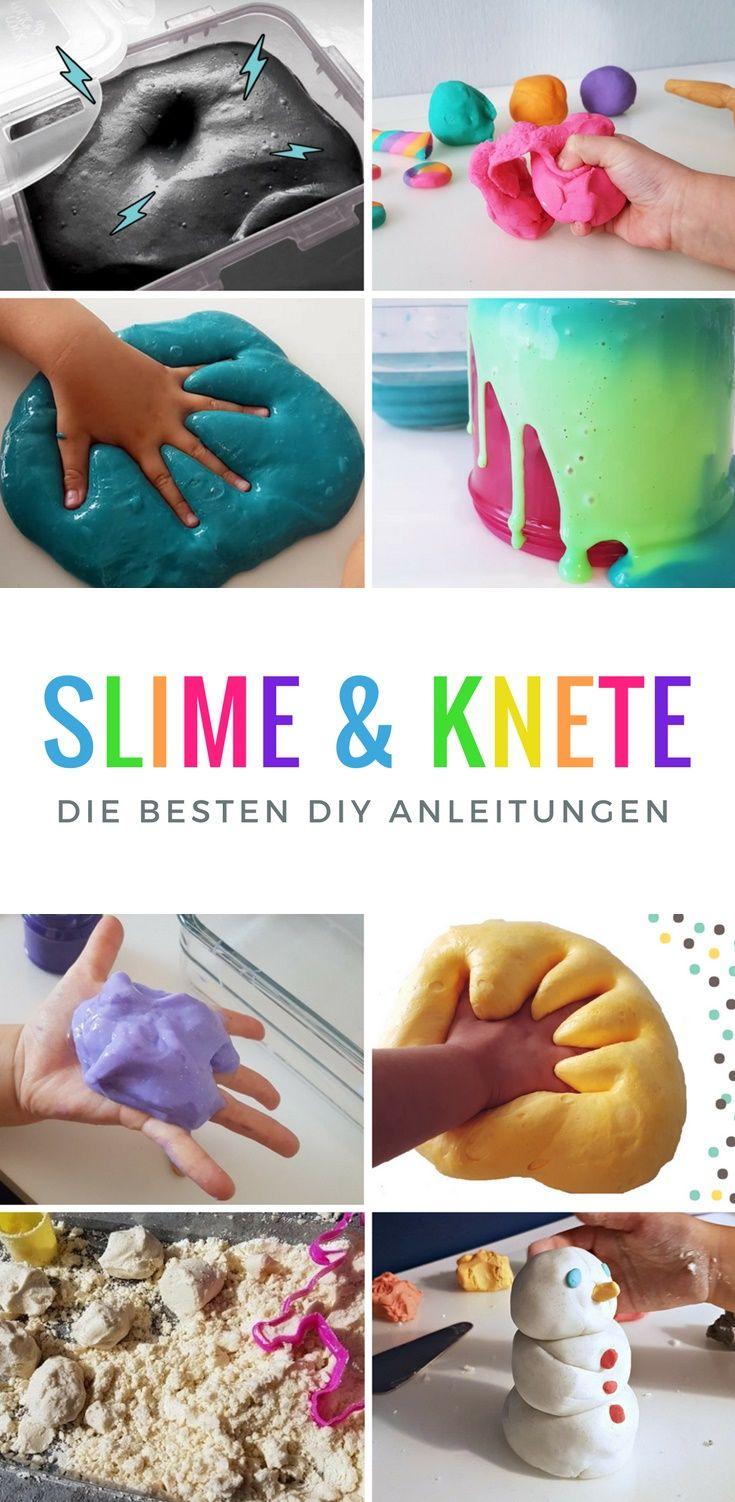 Wunderbar Knete Rezept Foto Von Die Besten Slime (schleim) + Rezepte &