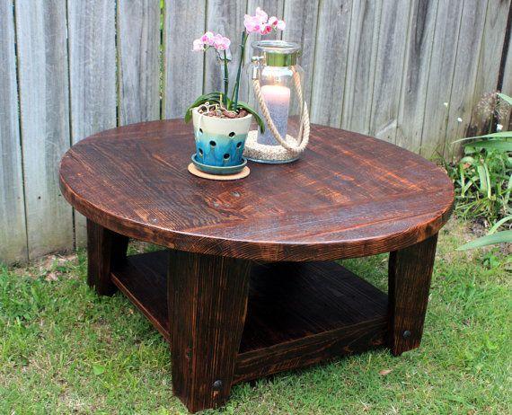 25 Bsta Round Wood Coffee Table Iderna P Pinterest Runt Soffbord Och