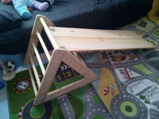 Rampa+triangulo Pikler #Montessori