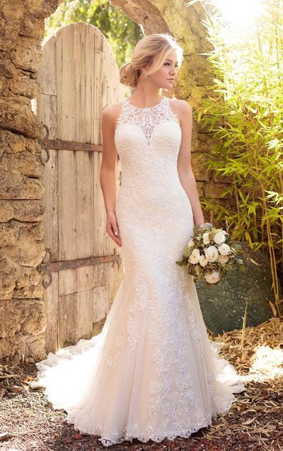 2016 Custom High Quality White Lace Wedding Dresses,Sexy Sleeveless Bridal Dresses with Train