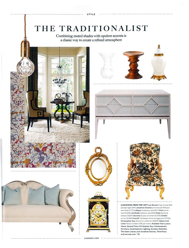 FRATO At HARRODS Home Property Autumn Winter 2016