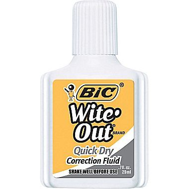 Grab Free Bic Wite-Out at Walmart right now!