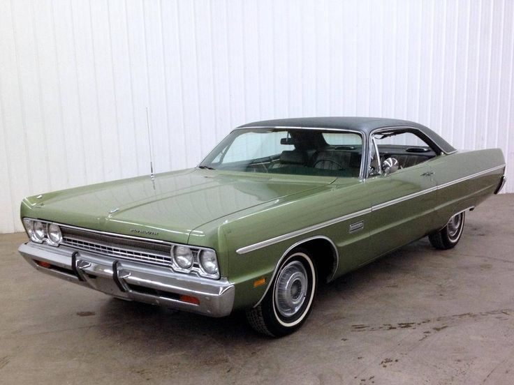 1969 Plymouth Fury III 2-Door Hardtop