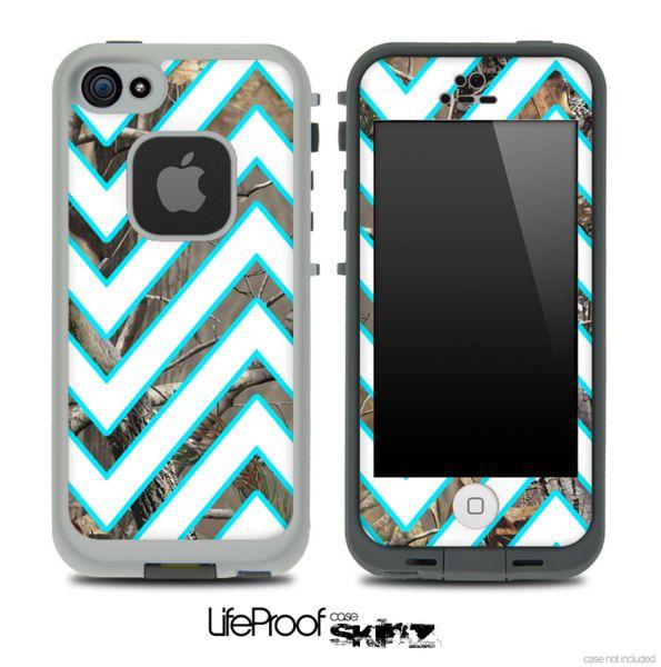 iPhone 5C LifeProof Case houdstooth   ... Camo Skin for the iPhone 5 or 4/4s LifeProof Case   Design Skinz, INC