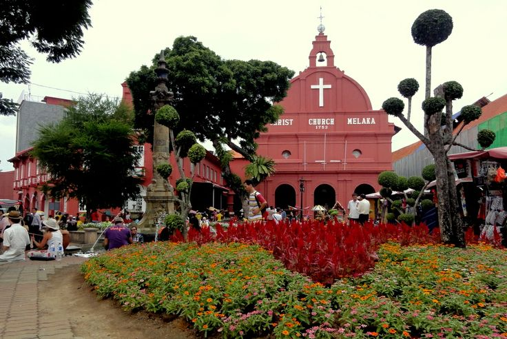 The Heart of Malacca: Red Square aka Dutch Square