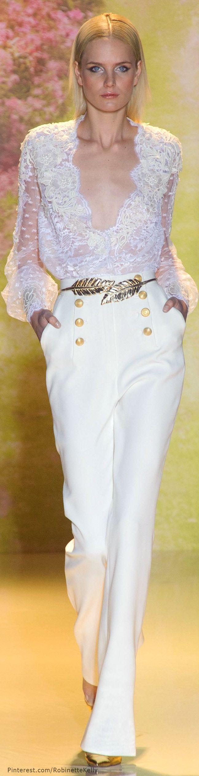 Défilé Zuhair Murad Haute Couture printemps-été 2014