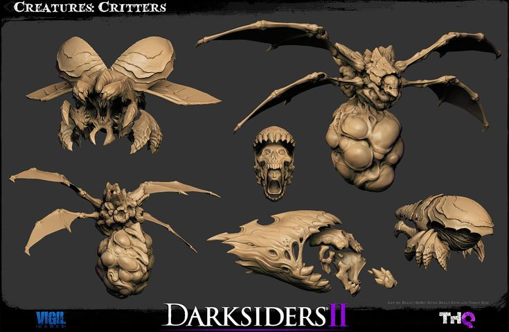 The Character Art of Darksiders II (new images pg 5, 6, 7) http://www.zbrushcentral.com/showthread.php?170535-The-Character-Art-of-Darksiders-II