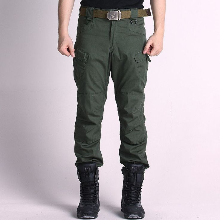 Men's Army Combat Military Sport Outdoor Training Long Trousers Trekking Climbing Pants